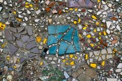 Teste padrão de mosaico do vintage Fotografia de Stock Royalty Free