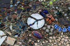 Teste padrão de mosaico do vintage Imagem de Stock Royalty Free
