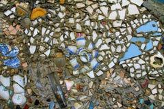 Teste padrão de mosaico do vintage Fotografia de Stock
