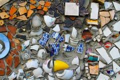 Teste padrão de mosaico do vintage Imagem de Stock