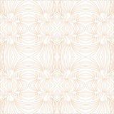 Teste padrão de mosaico esboçado floral sem emenda Fotos de Stock