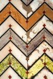 Teste padrão de mosaico intrincado do forte vermelho de Agra Fotos de Stock Royalty Free