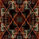 Teste padrão de mosaico sem emenda Fotos de Stock Royalty Free