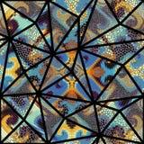 Teste padrão de mosaico sem emenda Imagem de Stock