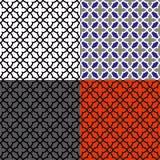Teste padrão de mosaico sem emenda Fotografia de Stock