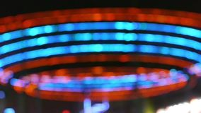 Teste padrão de néon de piscamento filme