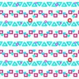 Teste padrão de néon na moda ilustração do vetor