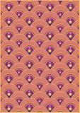 Teste padrão de onda Imagens de Stock Royalty Free