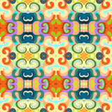 Teste padrão de onda abstrato colorido do fundo Ilustração Royalty Free