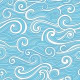 Teste padrão de onda colorido abstrato Imagens de Stock Royalty Free