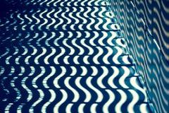 Teste padrão de onda com luz e sombra Imagem de Stock Royalty Free