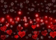 Teste padrão de onda do amor Fotografia de Stock Royalty Free