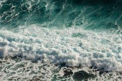 Teste padrão de onda do mar Imagens de Stock Royalty Free