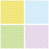 Teste padrão de onda macio de Seamles Imagens de Stock