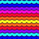 Teste padrão de onda sem emenda Foto de Stock Royalty Free