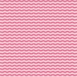 Teste padrão de ondas cor-de-rosa Foto de Stock