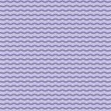Teste padrão de ondas roxo Fotografia de Stock