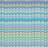 Teste padrão de ondas sem emenda abstrato Fotografia de Stock