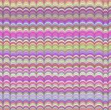 Teste padrão de ondas sem emenda abstrato Imagem de Stock