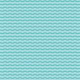 Teste padrão de ondas verdes Foto de Stock Royalty Free