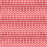 Teste padrão de ondas vermelho Foto de Stock Royalty Free