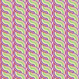 Teste padrão de ondulação colorido sem emenda do projeto ilustração stock