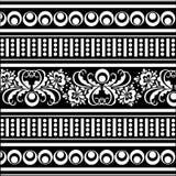 Teste padrão de oriental do vetor Fotografia de Stock Royalty Free