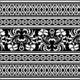 Teste padrão de oriental do vetor Imagem de Stock Royalty Free