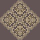Teste padrão de Oriente do damasco Imagem de Stock Royalty Free