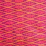 Teste padrão de panos do nativo de Tailândia Fotografia de Stock Royalty Free
