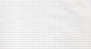 Teste padrão de papel alinhado quadrado Fotos de Stock Royalty Free