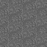 Teste padrão de papel cinzento Imagens de Stock Royalty Free