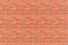Teste padrão de paredes de tijolo Fotografia de Stock Royalty Free
