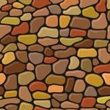 Teste padrão de pedra da parede ilustração do vetor