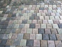 Teste padrão de pedra da parede da rocha Imagem de Stock Royalty Free