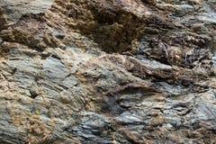Teste padrão de pedra da rocha, fundo textured Imagem de Stock