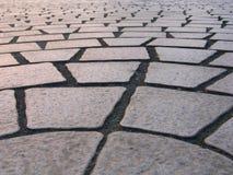 Teste padrão de pedra da telha Fotografia de Stock Royalty Free