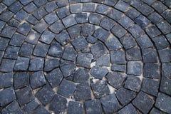 Teste padrão de pedra de Cirle Imagem de Stock