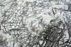 Teste padrão de pedra do fundo no sistema natural Imagem de Stock