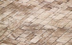 Teste padrão de pedra do pavimento Fotos de Stock