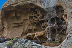 Teste padrão de pedra Vale de Barguzin fotos de stock royalty free