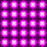 Teste padrão de pedras preciosas coloridas Imagens de Stock