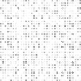 Teste padrão de ponto abstrato preto e branco Fotos de Stock