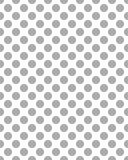 Teste padrão de pontos cinzentos Foto de Stock Royalty Free