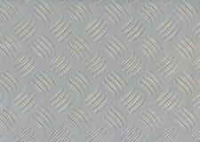 Teste padrão de prata do fundo Fotografia de Stock