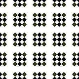 Teste padrão de repetição Checkered sem emenda formal Fotografia de Stock Royalty Free