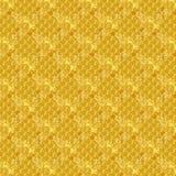 Teste padrão de repetição geométrico do ouro amarelo ilustração royalty free