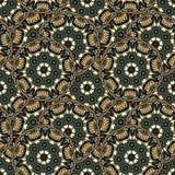 Teste padrão de repetição sem emenda de mandalas coloridas Imagem de Stock Royalty Free