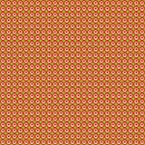 Teste padrão de repetir o sol vermelho em um verde ilustração royalty free