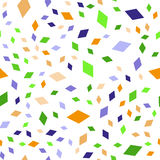 Teste padrão de rombos do verde amarelo e do roxo Imagem de Stock Royalty Free